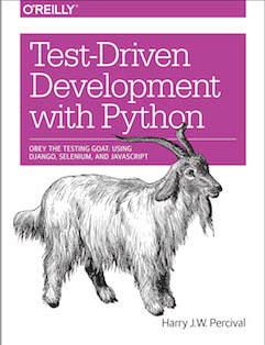 Buchtitel Test-Driven Development with Python